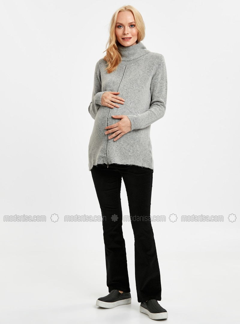 Black - Maternity Pants