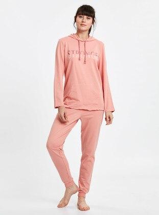 Pijama Takım - Pembe - LC WAIKIKI Ürün Resmi