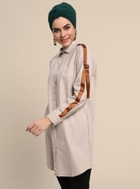 Minc - Point Collar - Cotton - Tunic
