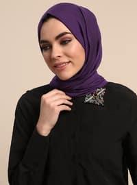 Black - Point Collar - Cotton - Blouses