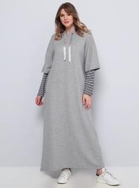 Gray - Plus Size Tunic