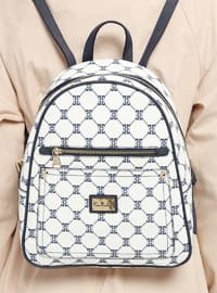White - Backpacks - Pierre Cardin