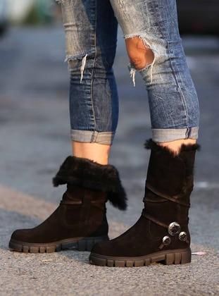 Fast Step Çizme - Siyah Süet