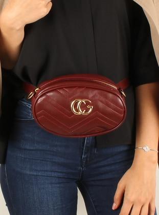 Maroon - Clutch Bags / Handbags - Luwwe