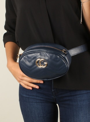 Navy Blue - Clutch Bags / Handbags - Luwwe