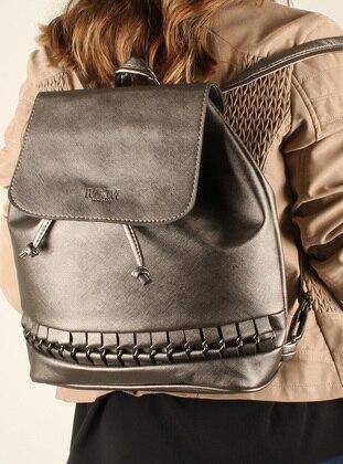 Gray - Backpacks - Luwwe