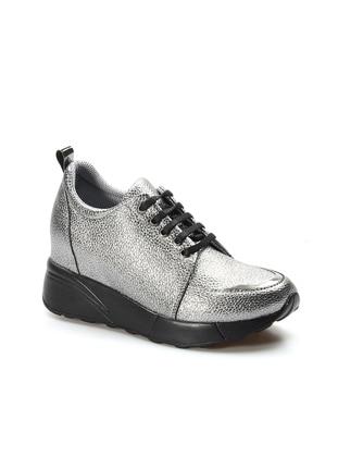 Fast Step Spor Ayakkabı - Gümüş