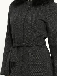 Anthracite - Multi - Unlined - Coat