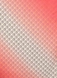 Maroon - Printed - Scarf
