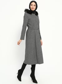 Gray - Multi - Unlined - Coat