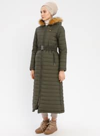 Khaki - Fully Lined - Coat