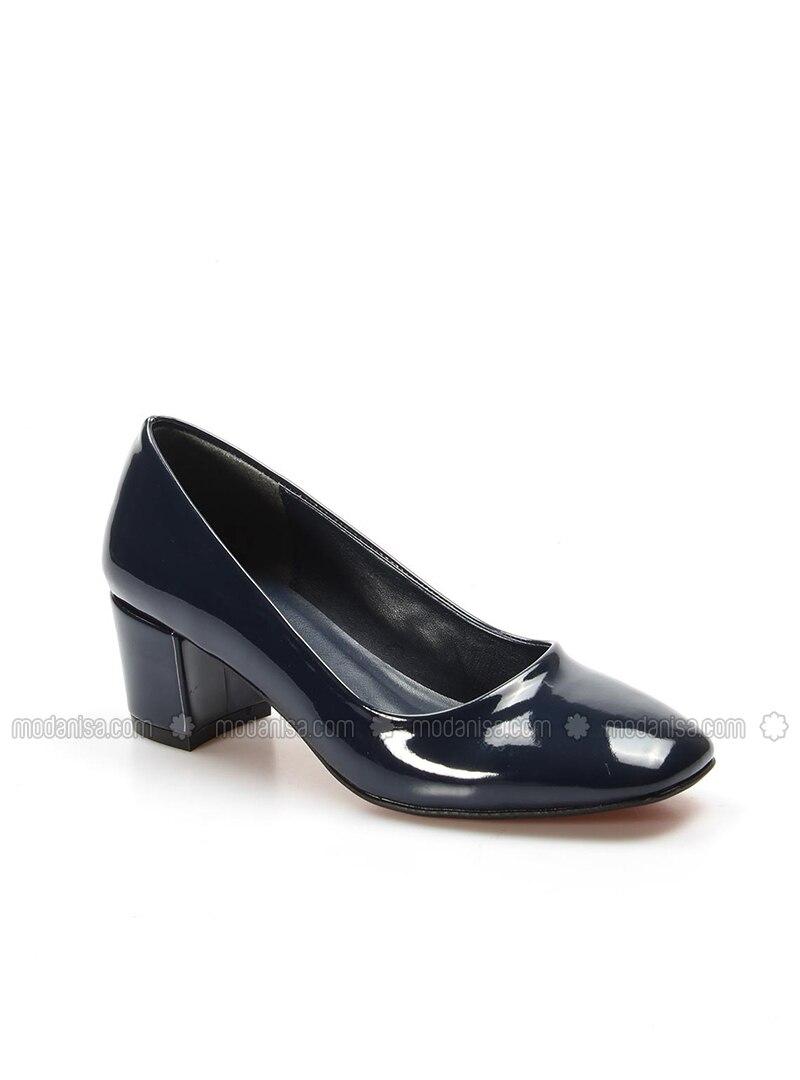 5ce13a504 Navy Blue - High Heel - Shoes. Fotoğrafı büyütmek için tıklayın