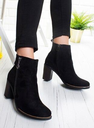 Black - Boot - Boots - Ayakkabı Frekansı