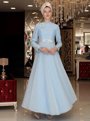Baby Blue - Muslim Evening Dress