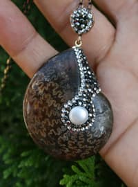 Brown - Necklace
