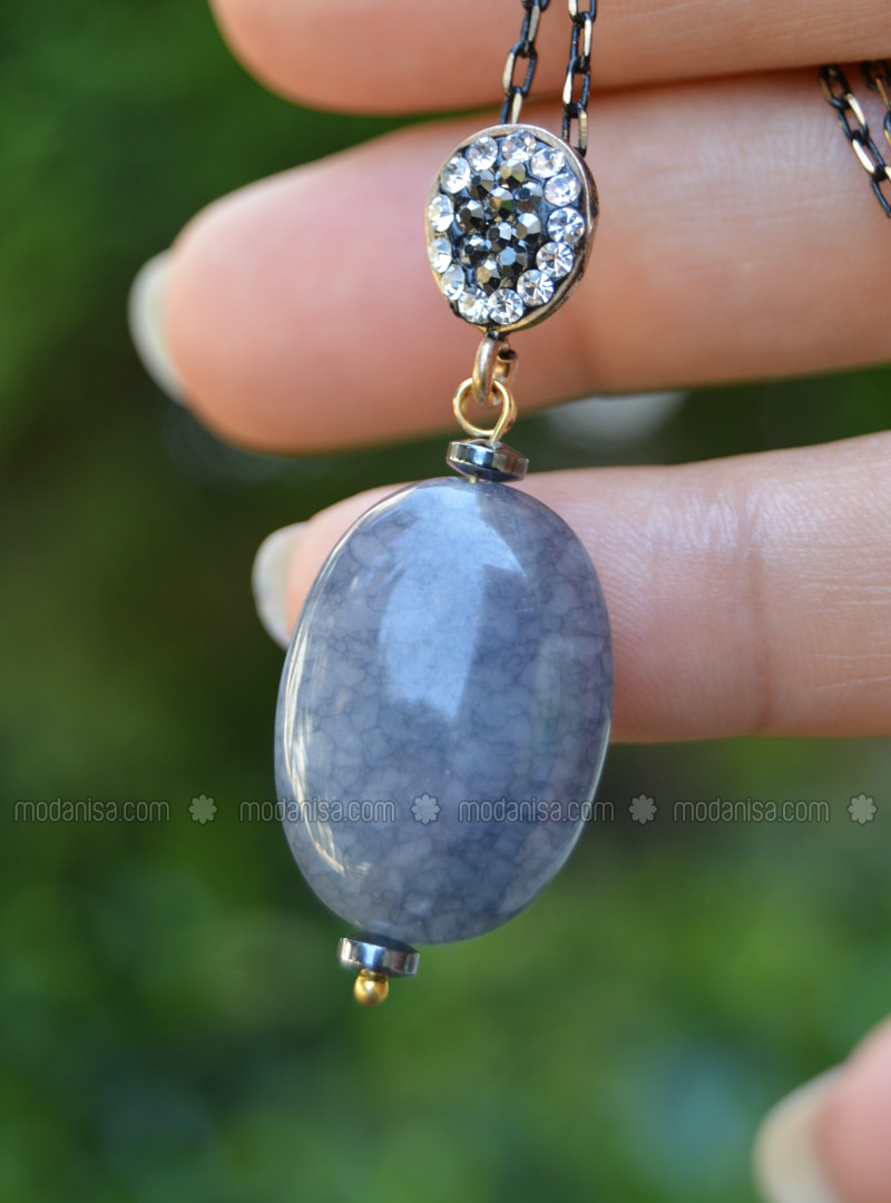 Gray - Necklace