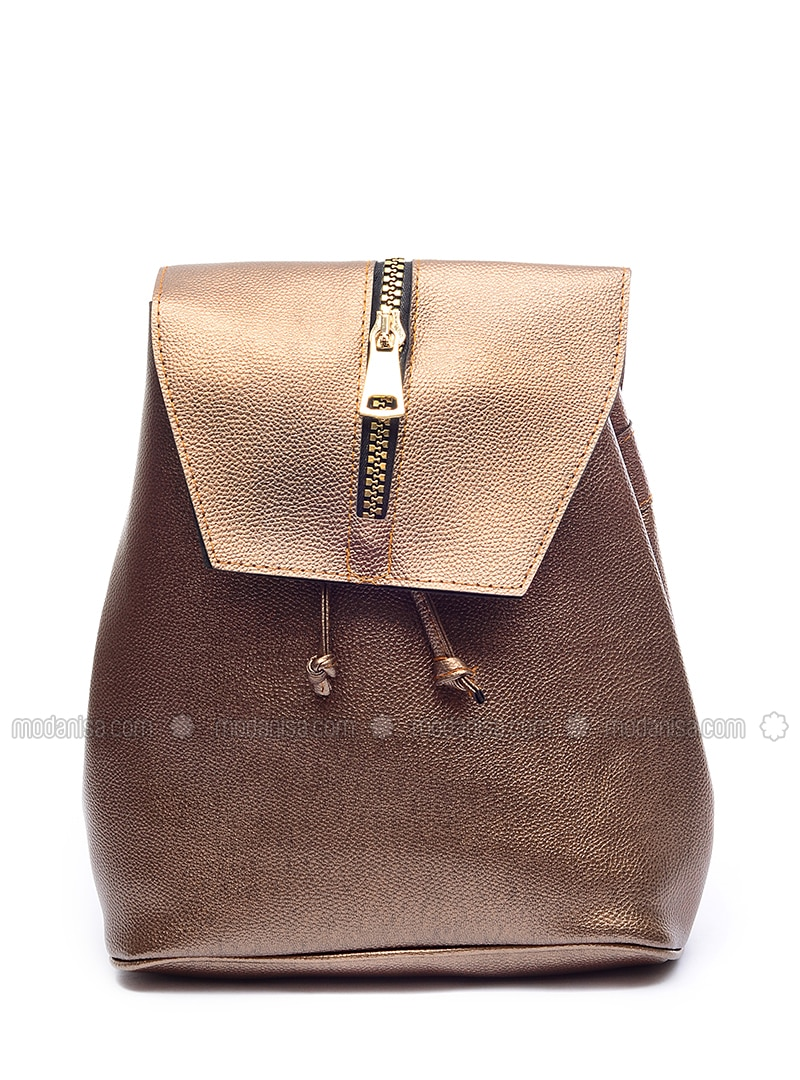 Brown - Gold - Backpacks
