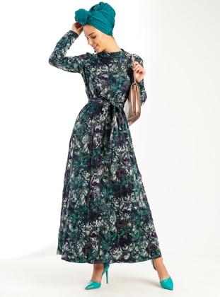 Green – Purple – Dresses – Peramood