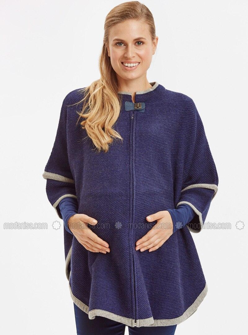 Navy Blue - Maternity Vest