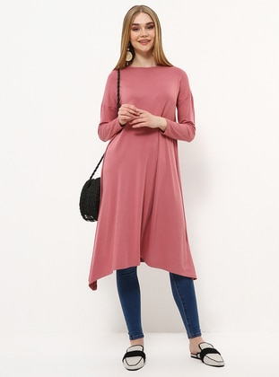 - Crew neck - Viscose - Tunic