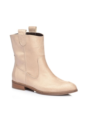 Beige – Boot – Boots – Shoestime