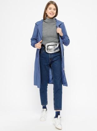 Blue - Indigo - Fully Lined - Topcoat