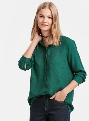 Gömlek - Yeşil - LC WAIKIKI Ürün Resmi