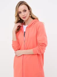 Coral - Unlined - Topcoat
