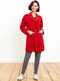 Red - Morning Robe