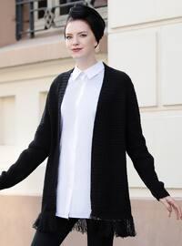 Black - Acrylic -  - Jacket