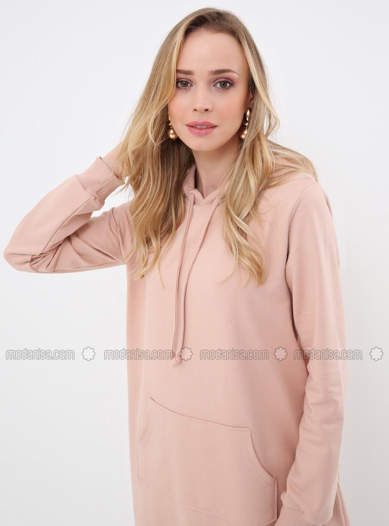 Pink - Powder - Unlined - Dress