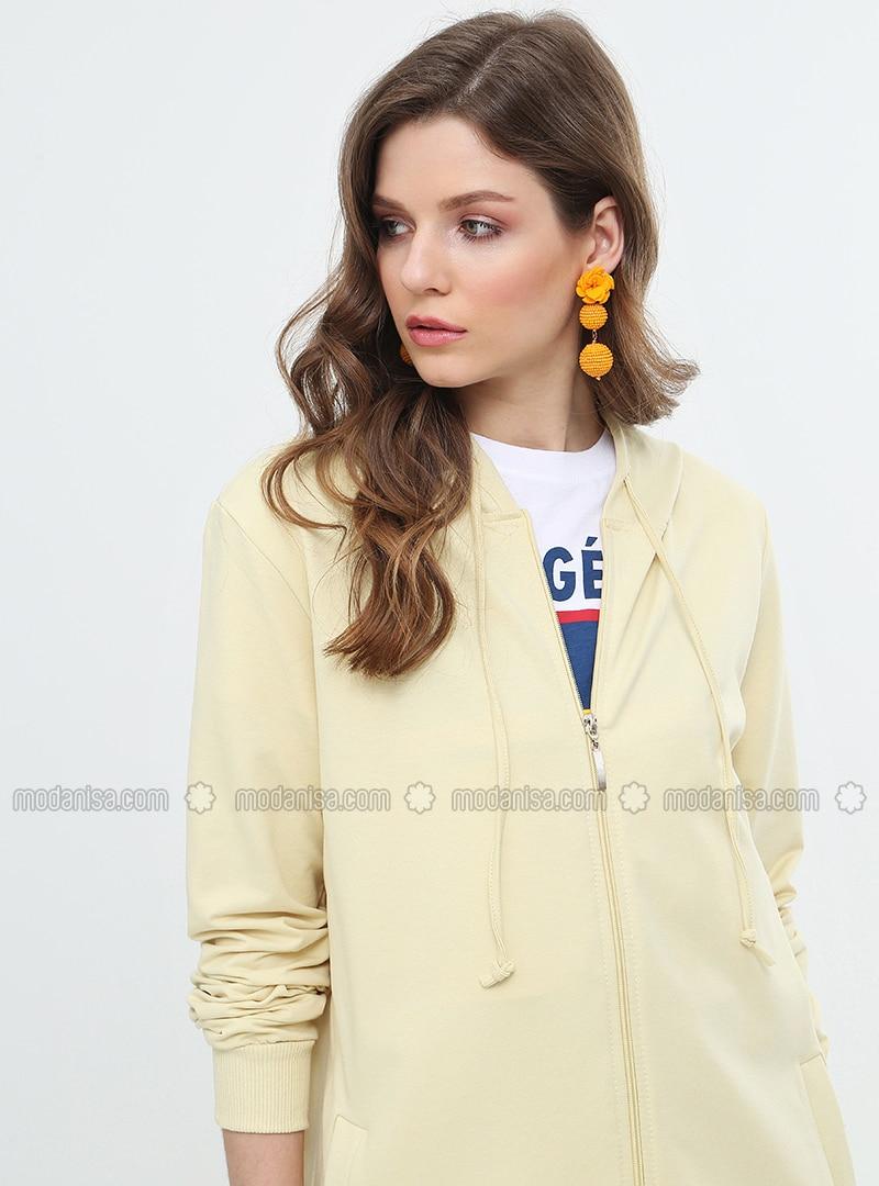 Yellow - Unlined - Topcoat