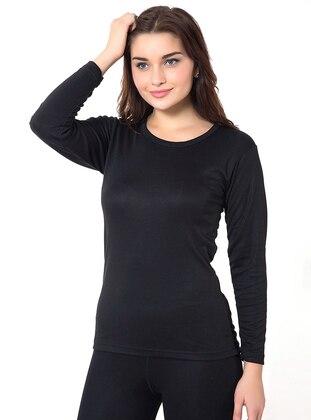 Black - Corset -  Pijama
