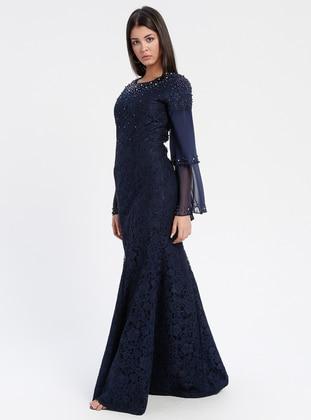 Navy Blue Muslim Evening Dresses Shop Women S Muslim Evening