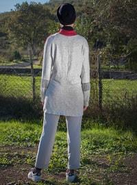 White - Crew neck - Cotton - Tunic