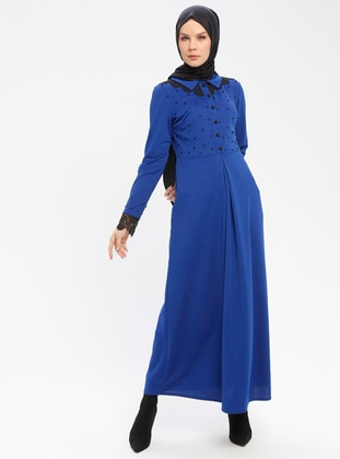 Saxe - Point Collar - Unlined - Dresses