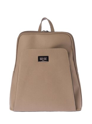 Sırt Çantası - Açık Vizon - Housebags Ürün Resmi