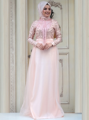 ac77f8a520 Salmon Muslim Evening Dresses - Shop Women s Muslim Evening Dresses ...
