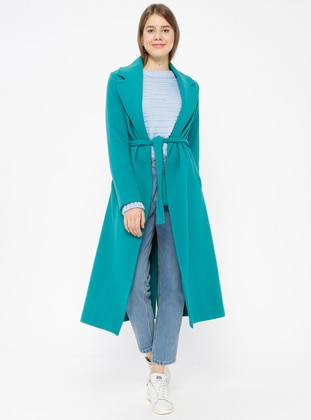 Mint - Fully Lined - Shawl Collar - Coat
