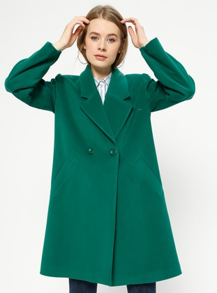 Grün Kurzmantel Modelle | Modanisa