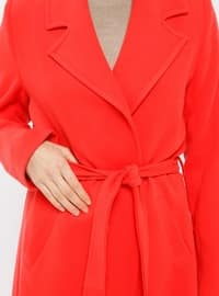 Coral - Fully Lined - Shawl Collar - Coat