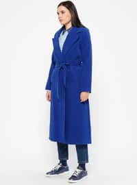 Saxe - Fully Lined - Shawl Collar - Coat
