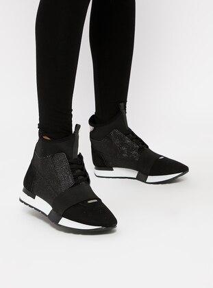 Spor Ayakkabı - Siyah Süet - ROVIGO Ürün Resmi