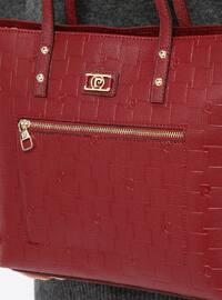 Maroon - Shoulder Bags - Pierre Cardin