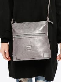 Gray - Shoulder Bags - Pierre Cardin