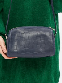 Navy Blue - Shoulder Bags - Pierre Cardin