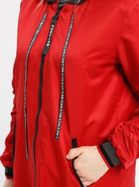 Red - Unlined - Jacket