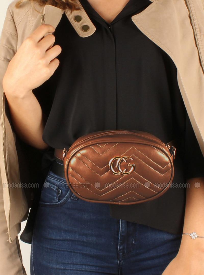 Brown - Shoulder Bags - Luwwe