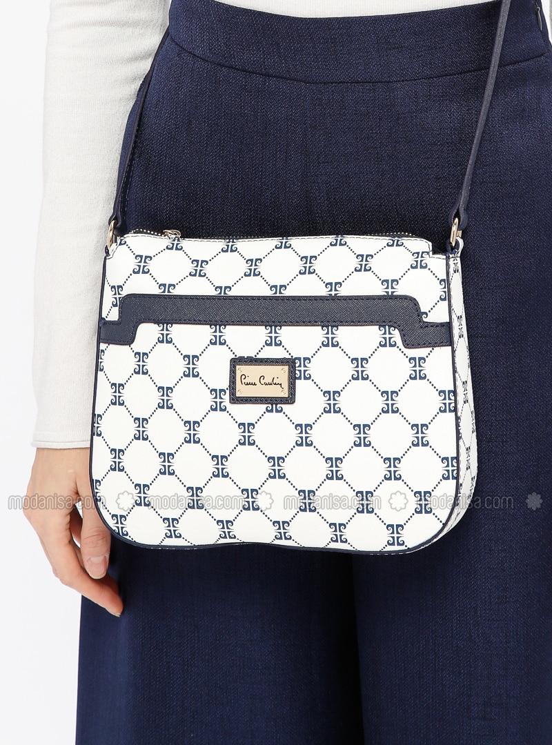 White - Ecru - Shoulder Bags - Pierre Cardin