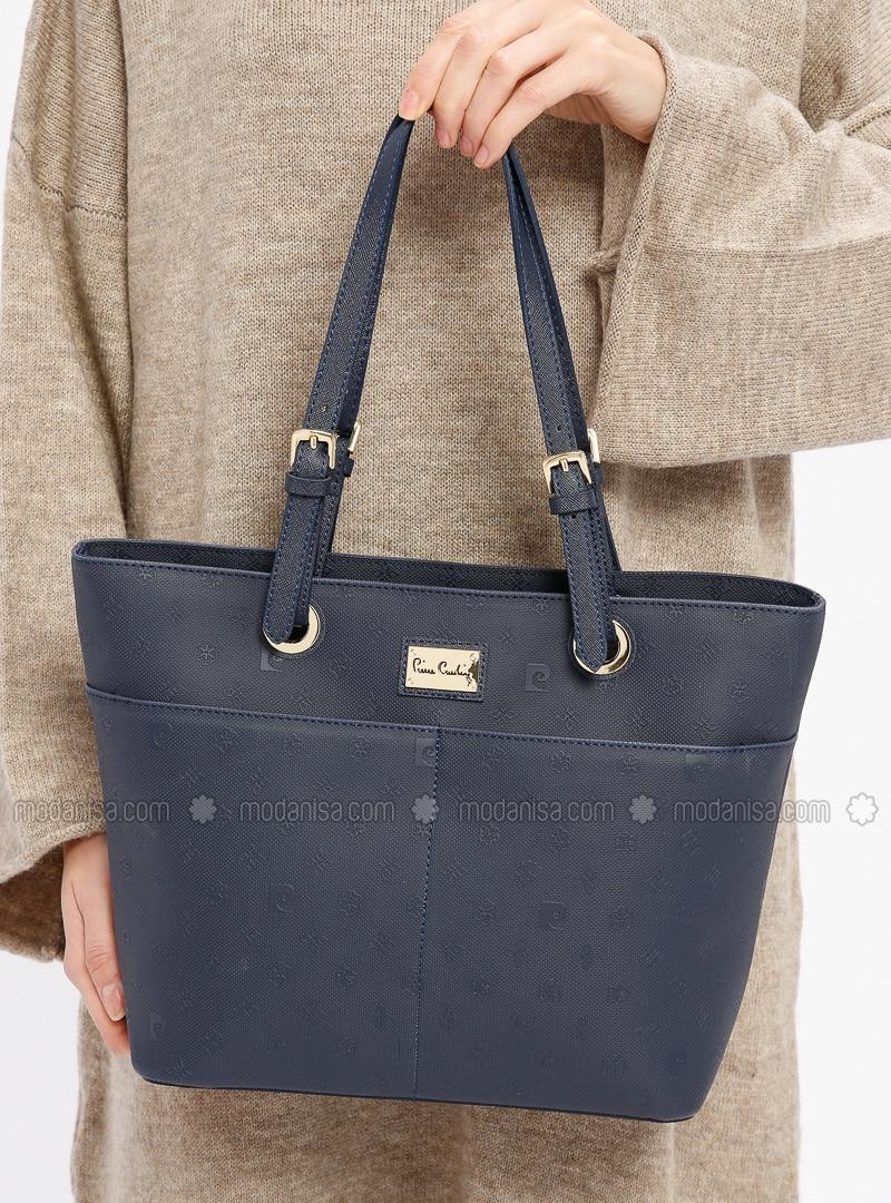 Navy Blue - Shoulder Bags - Pierre Cardin